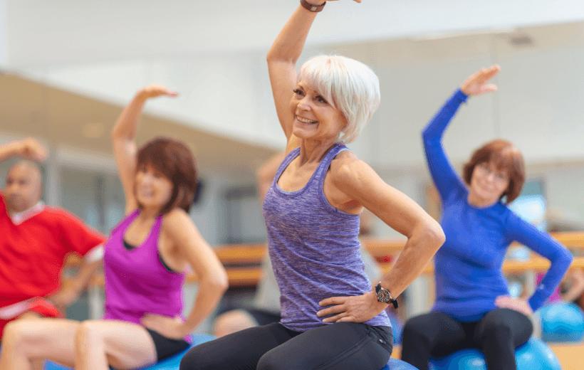 retirement exercise class